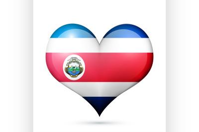 Costa Rica Heart flag icon