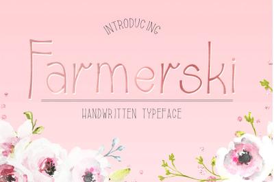 Farmerski Font