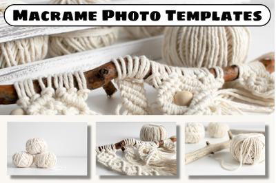 Macrame Photo Templates