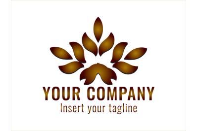 Logo Gradation Leaf Style