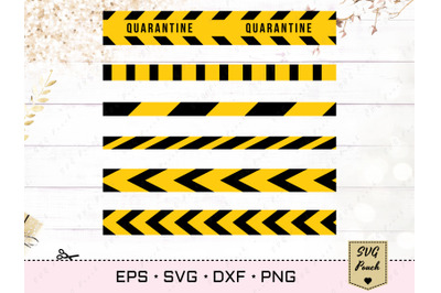 Caution Do Not Cross Tape SVG
