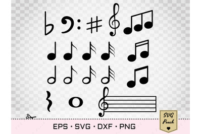 Music Notes SVG