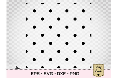 Polka Dot seamless pattern SVG