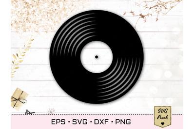 Vinyl Record SVG