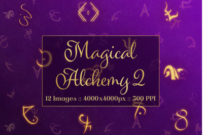 Magical Alchemy 2 - Background Images Textures Set