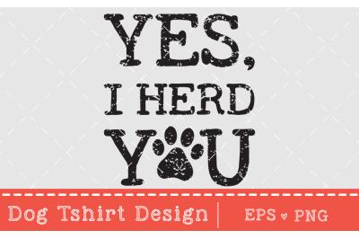 Dog T-Shirt design,