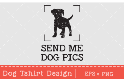Dog T-Shirt design