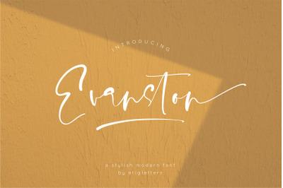 Evanston - Stylish Modern Font