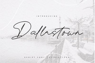 Dallastown - Script Font