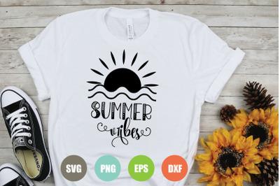 Summer Vibes SVG