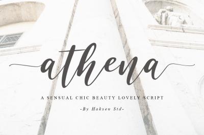 Athena a Sensual Chic Beauty Script