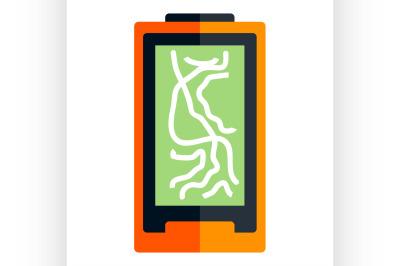 Flat navigator icon