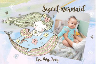 Sweet mermaid