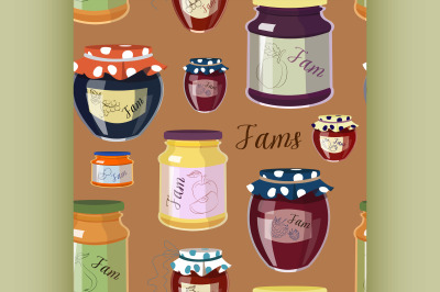 Download Clear Glass Jar With Orange Jam Mockup Yellowimages