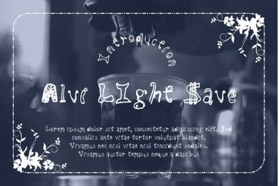 Alvi LIght Save
