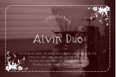 Alvin Duo
