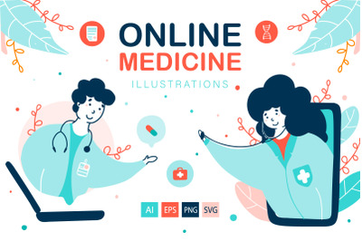Virtual Doctor - Medical Illustrations