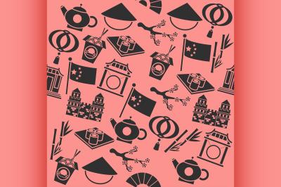 China icons pattern