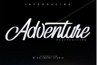 Adventure / Typeface