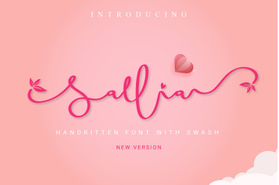Sallia / Handwritten Swashes
