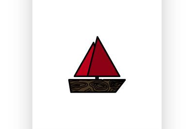 fishing flat icon