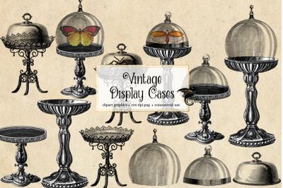 Vintage Display Case Clipart