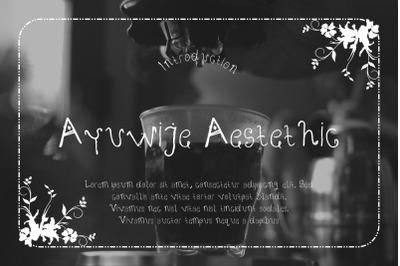 Ayuwije Aestethic