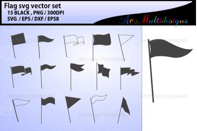 Flag Banner SVG vector