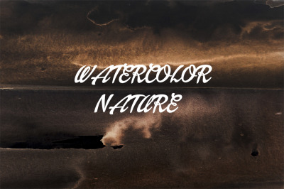 watercolor abstract landscape and nature and also texture and print