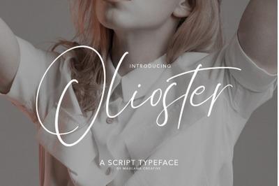 Olioster Elegant Fashion Script Font