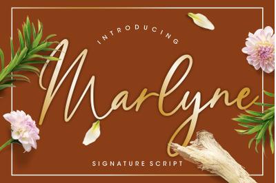 Marlyne Signature Script