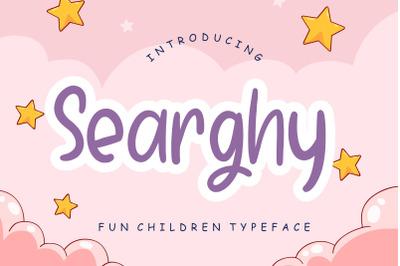 Searghy Fun Children Typeface