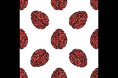 Human organs flat pattern