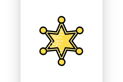 Law flat icon