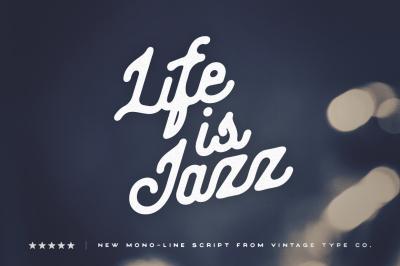 Life Is Jazz Script