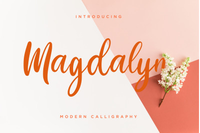 Magdalyn Modern Calligraphy