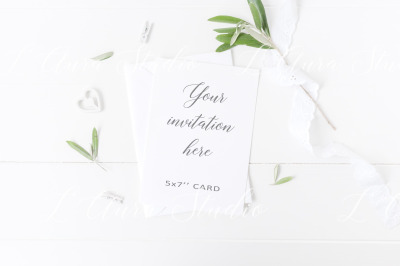 Wedding stationery mockup - psd/png