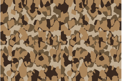 Camouflage pattern background vector. Military style masking camo
