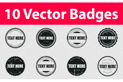 Vector Badges Logo Design