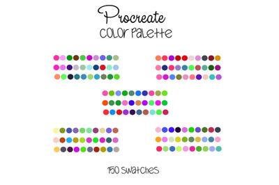 Procreate color palette