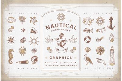 Nautical Vectors | Graphics Set