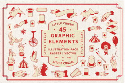 Little Circus | Graphic Elements