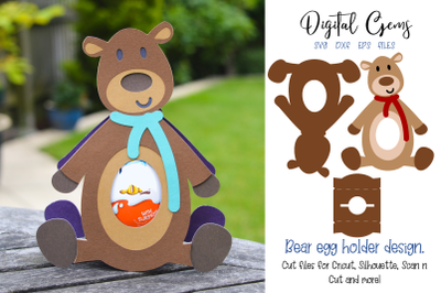 Bear egg holder design