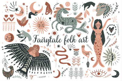 Fairytale folk art