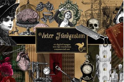 Victor Frankenstein Graphics