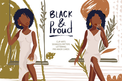 Black & Proud. Big Beauty Set. - 50%
