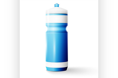 1l Plastic Water Bottle Mockup