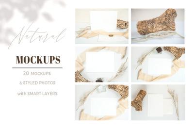 Natural.  Mockup and style photos