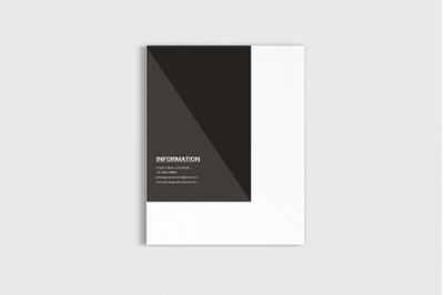 Fotograph - A4 Photography Proposal Template