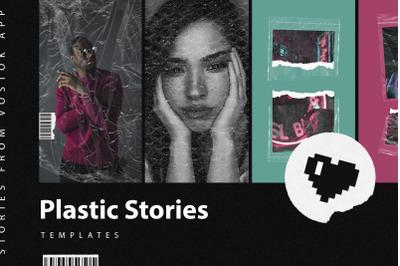 Plastic Stories for Instagram